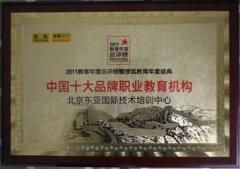 中国十大品牌职业教育机构