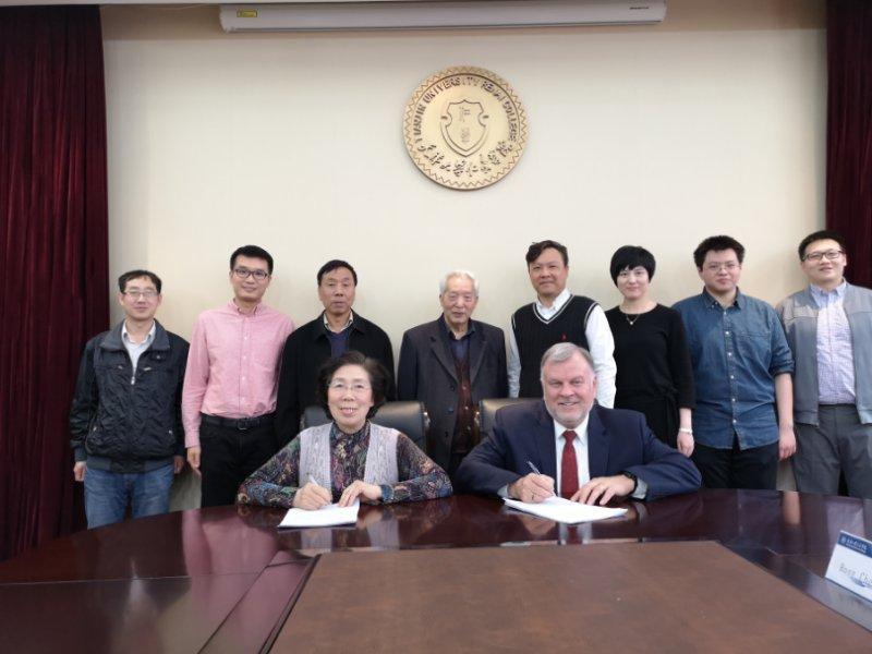 <b>美国密苏里堪萨斯校区副校长对天津大学仁爱学院进行访问并签订合作协议</b>